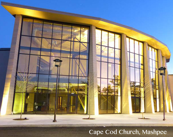 Cape Cod Church Exterior