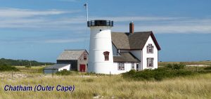 Lighthouse in New England Without Lantern